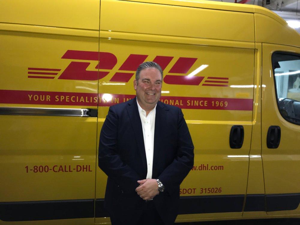 DHL Express U.S. President Greg Hewitt
