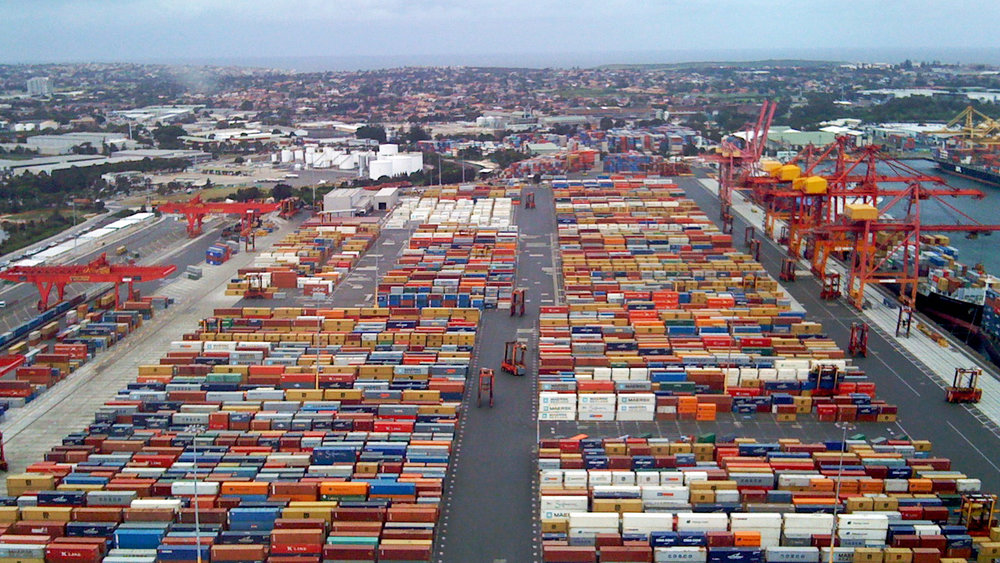 A Sydney Port is shown in this file photo. (Photo: Wikipedia commons)