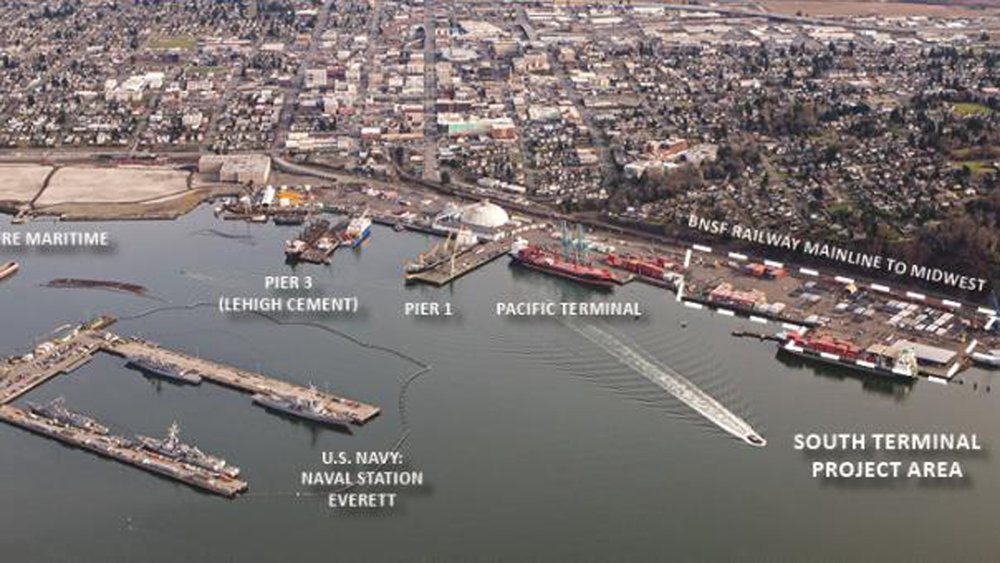 Port of Everett, Washington ( Photo: Port of Everett )