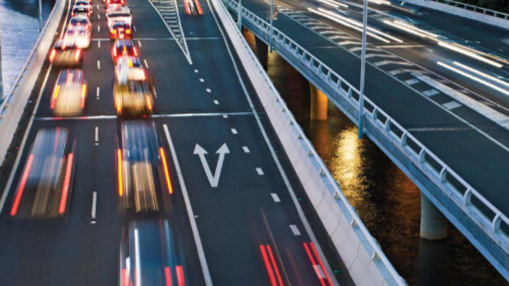 Australia's federal and state governments are together spending billions of dollars on building roads around Australia to ease the movement of people and freight.  (Photo:    Bureau of Infrastructure, Transport and Regional Economics  ).