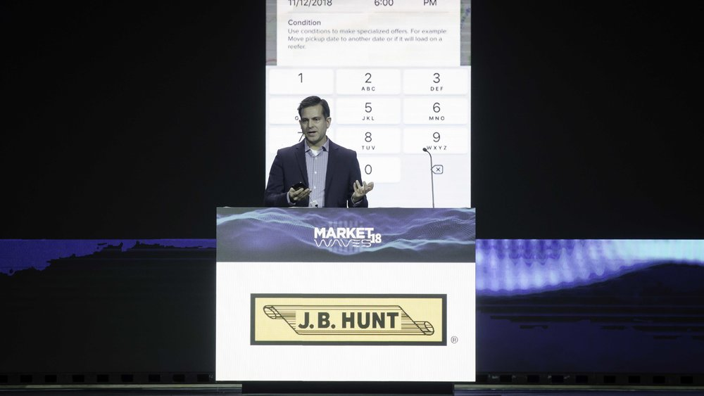 Mark Brewer, head of product innovation at J.B. Hunt Transport