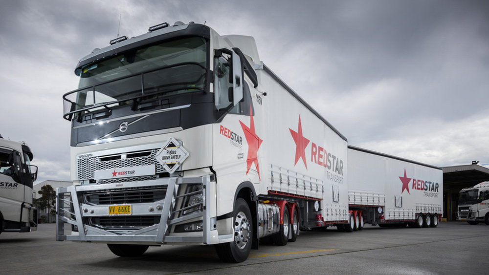 Redstar Transport, a large long-distance and heavy-freight trucking business, collapsed in Australia after running out of cash just days before Christmas. Hundreds of people have been thrown out of work. Cargo has been returned to the depot. And the liquidation of Redstar may have wider consequences than is first apparent.  (Photo: Redstar Transport).