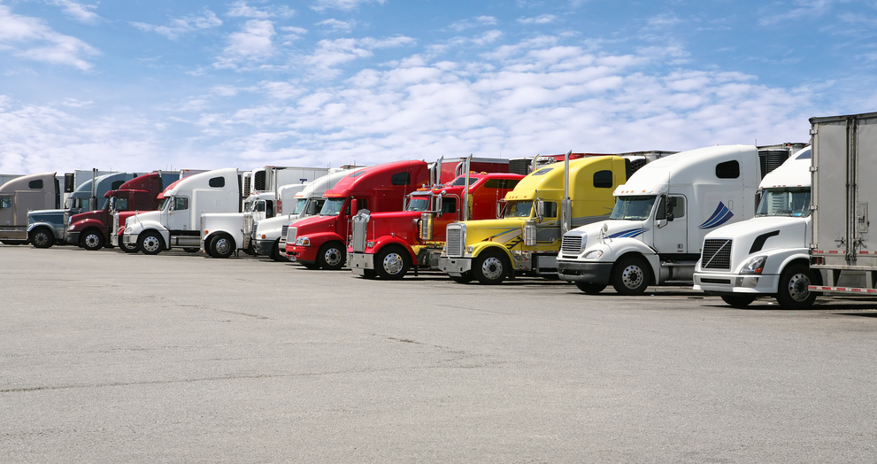 Black Smoke Matters, a group formed by truckers, is planning a nationwide shutdown on April 12 to protest several issues facing truckers. ( Photo: Shutterstock )