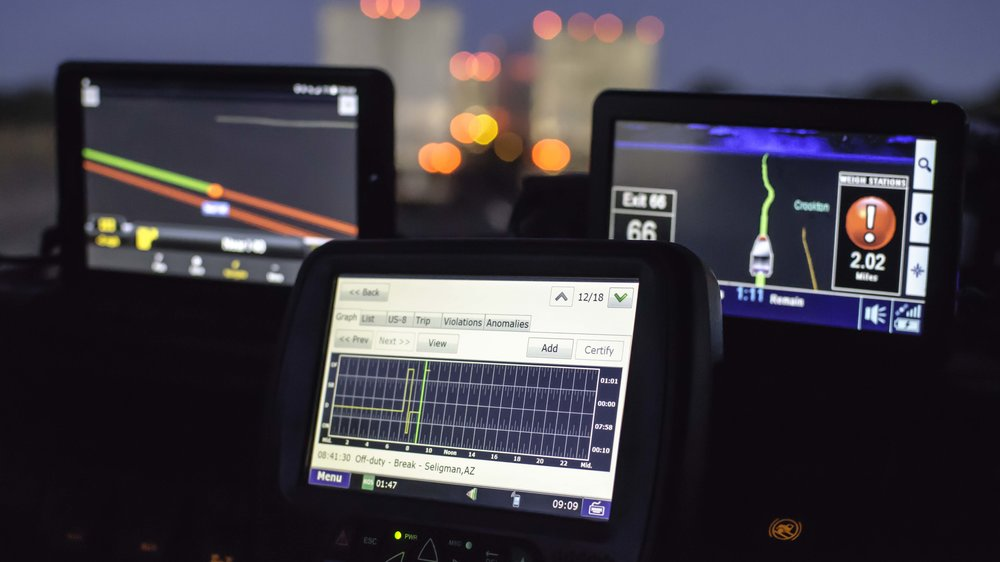 ELDs have been required for the majority of the industry for more than a year now, but there are still some that do not have to comply until Dec. 16, 2019. ( Photo: Jim Allen/FreightWaves )