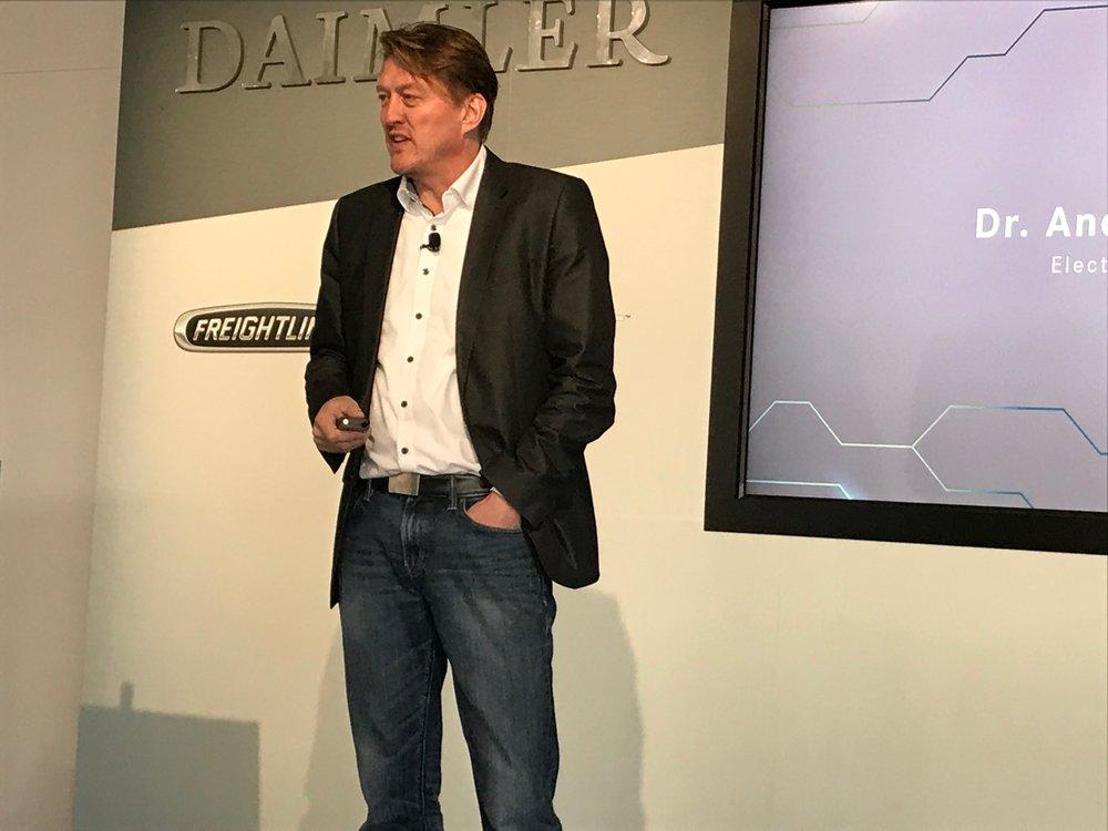 Andreas Juretzka, Daimler E-Mobiity Group Lead ( Photo: Linda Baker )
