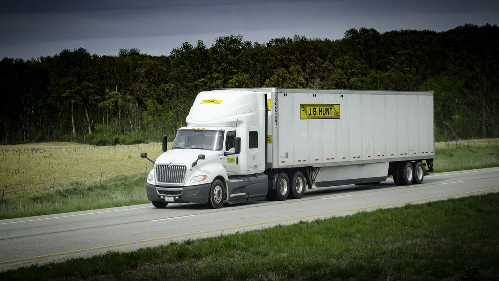 Hunt Goes Shopping to Grow Final-Mile (Photo: FreightWaves/Jim Allen)