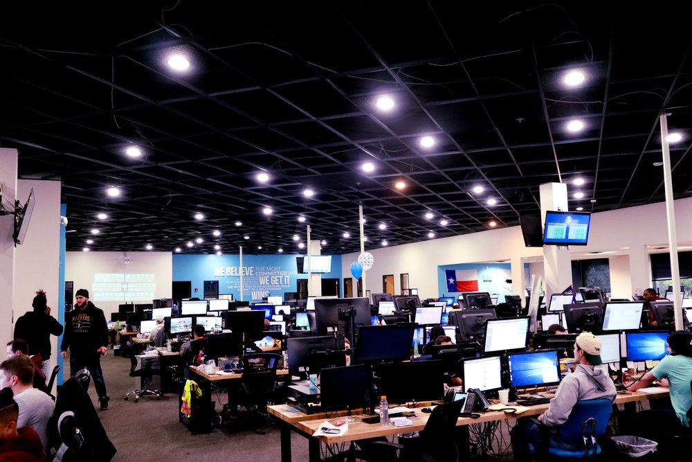 The brokerage floor at Arrive Logistics in Austin. ( Photo: Arrive )