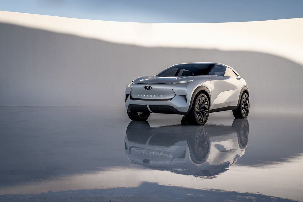 Infinit QX concept electric SUV