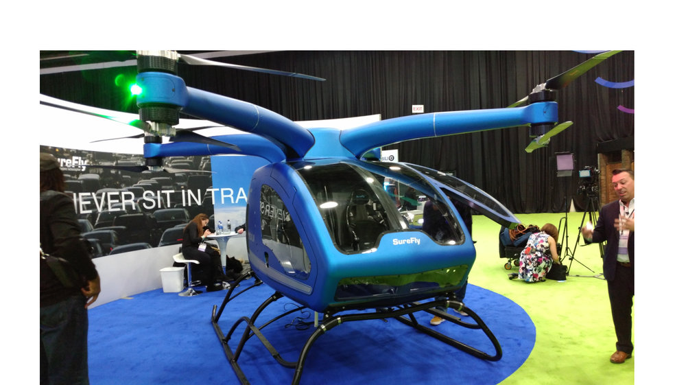 The SureFly is just one of the products that Workhorse is working on. Additional projects include electric delivery vans and electric pickups.