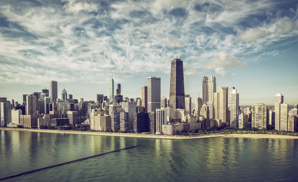 The Chicago skyline. ( Photo: Shutterstock )