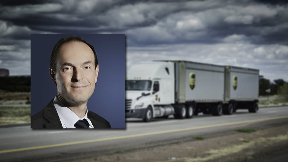 Gilbert takes the reins of Supply Chain and Freight (Photo: UPS.com)
