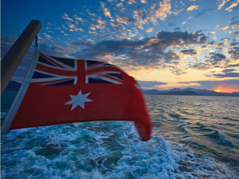 The sun is setting on the Australian shipping register as ship operators abandon the local coastal trading regime. Ship operators are fleeing the flag following the 2012 reforms.  (Photo: Shutterstock) .