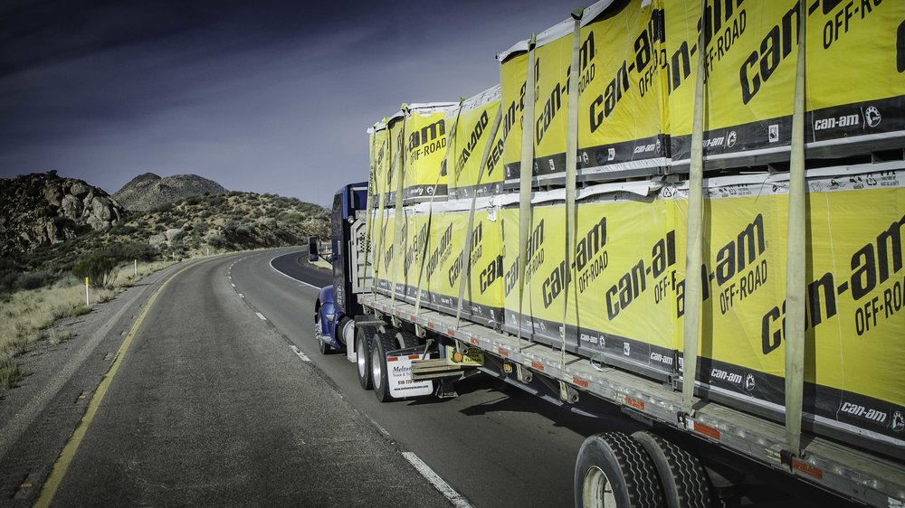 For-hire truck tonnage posted its best yearly growth since 1998, but a decline in ATA's Index at the end of the year indicated some softening. ( Photo: Jim Allen/FreightWaves )