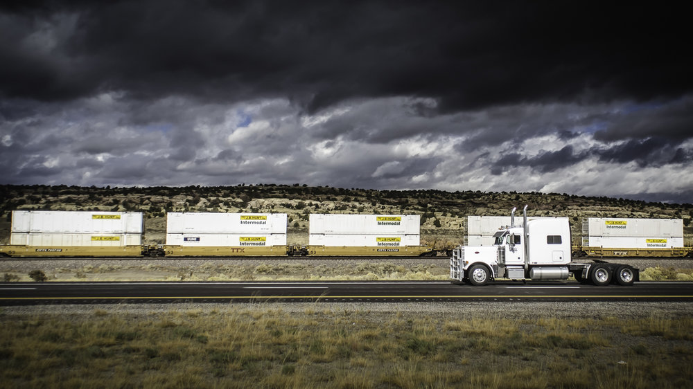 Talking intermodal at a high level at SMC3 (Photo: Jim Allen/FreightWaves)