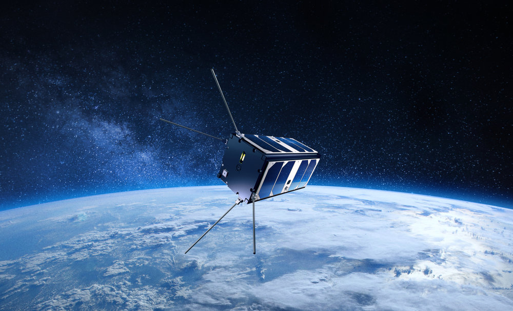 Small, yet powerful satellites can now be deployed for just a fraction of the cost of more traditional satellites, potentially changing the way logistics companies access location and other data for assets. ( Photo: Reaktor )