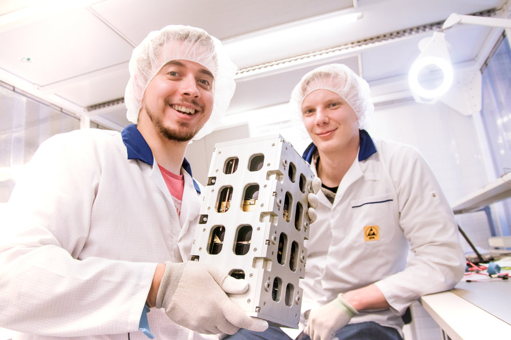 Advances in technology have led developers to create satellites not much bigger than a shoe box that can be launched into orbit for as little as $1 million, less than 10% of the previous cost to do so. ( Photo: Reaktor )