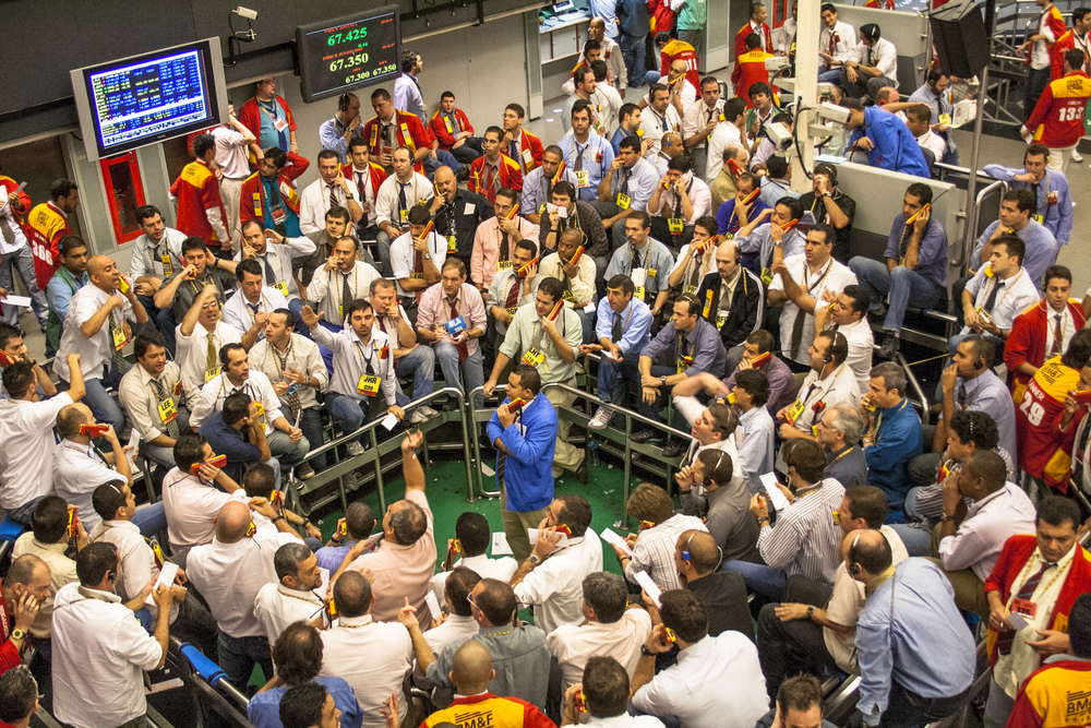 Commodities traders in Sao Paolo, Brazil. ( Photo: Shutterstock )
