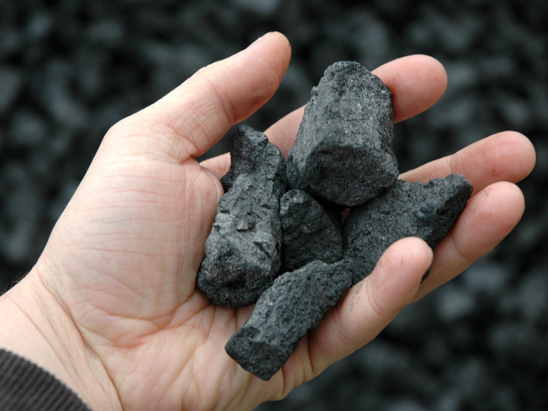 Pictured: metallurgical coal, which is used to make steel. A  judge in Australia has just denied permission to build a coking coal mine in rural New South Wales as it would contribute to global greenhouse gas emissions.  Photo: coking coal; Shutterstock.