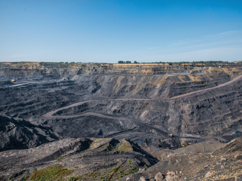 Pictured: an open cut coal mine;  Photo: Shutterstock