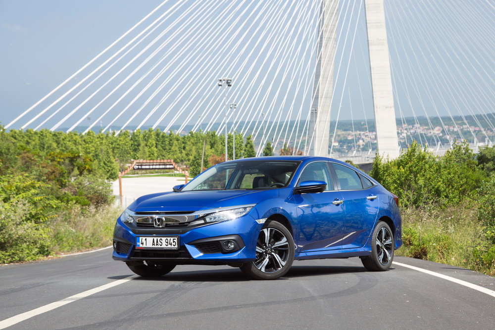 The Honda Civic production in both Turkey and the United Kingdom will end in 2021 with the closure of both the Kocaeli and Swindon plants. Credit: Shutterstock.com