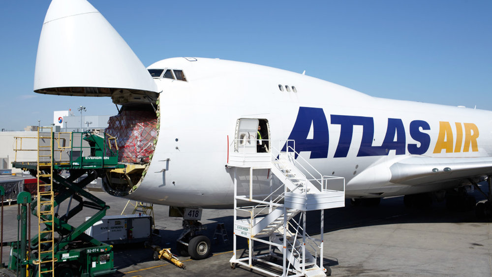 Cargo filled up many a plane last year (Photo: Atlas Air)
