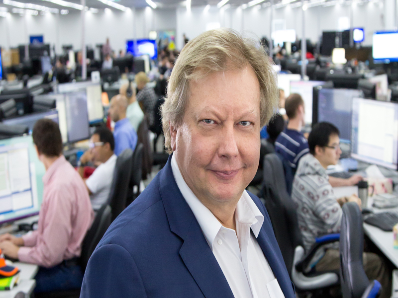 Pictured: Richard White, CEO and founder of WiseTech Global; Photo: WiseTech Global