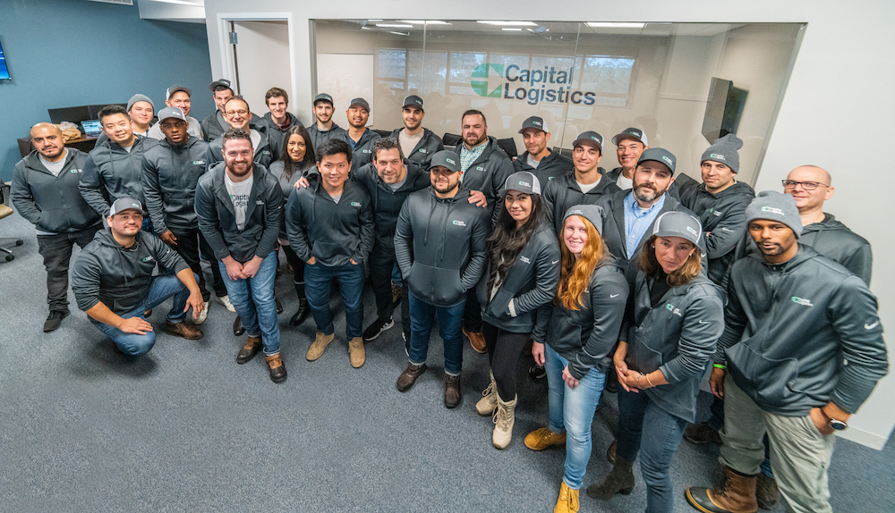 Capital Logistics brokers in its White Plains headquarters. ( Photo: Capital Logistics )