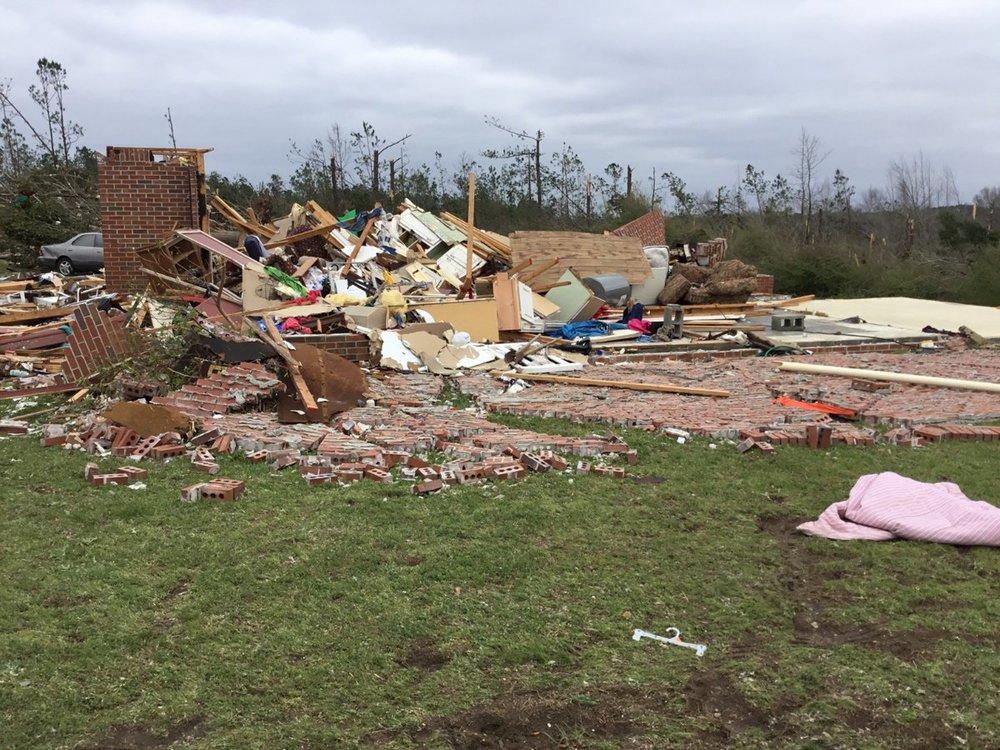 Killer Tornado Strikes Small Alabama Community Over The Weekend