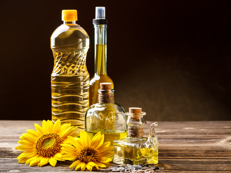 Pictured: a selection of edible oils. Storage of edible oils is big business. GrainCorp is about to sell its edible oils storage business for AU$350 million. Photo: Shutterstock.