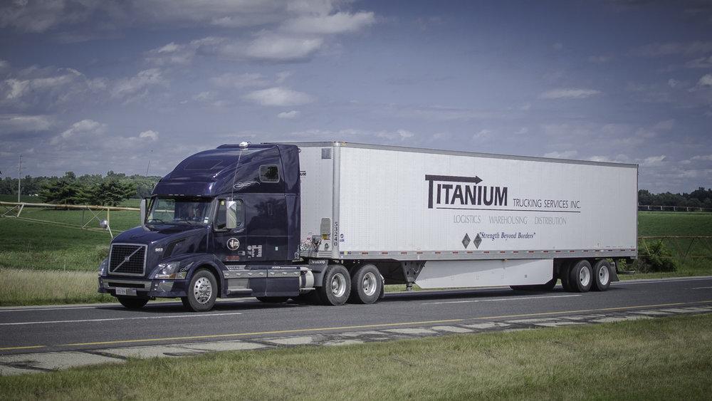 Titanium's fleet has 475 power units and 1,400 trailers. Photo: Jim Allen/FreightWaves