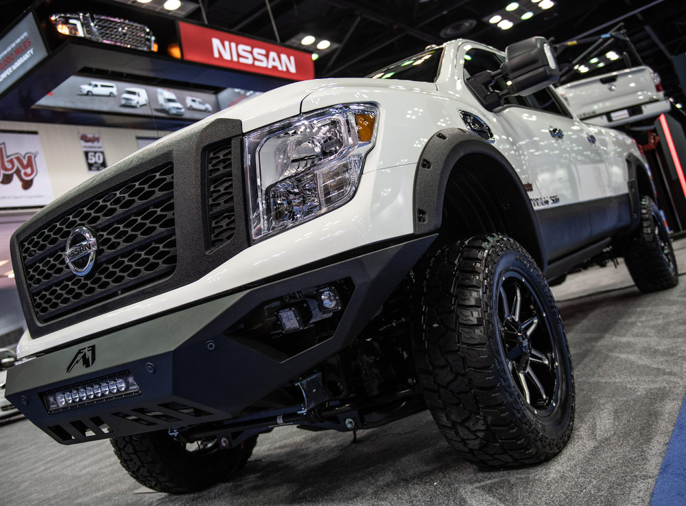 Nissan is offering a special Rocky Ridge version of its Titan.
