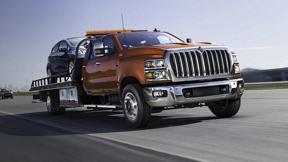 New truck models help boost Navistar revenues. Credit: Navistar.