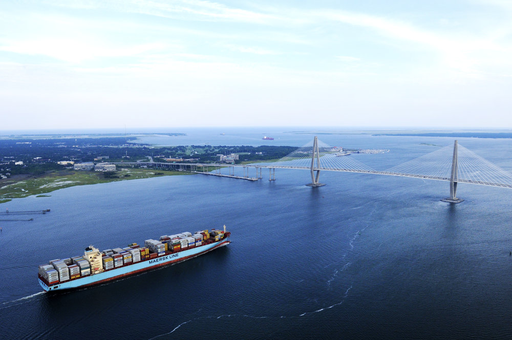 Port of Charleston. Credit: SCPA