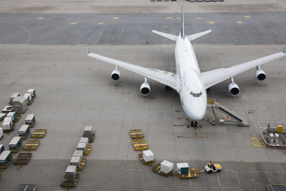 One of Cathay Pacific's Boeing 747 freighters. ( Photo: Cathay Pacific )