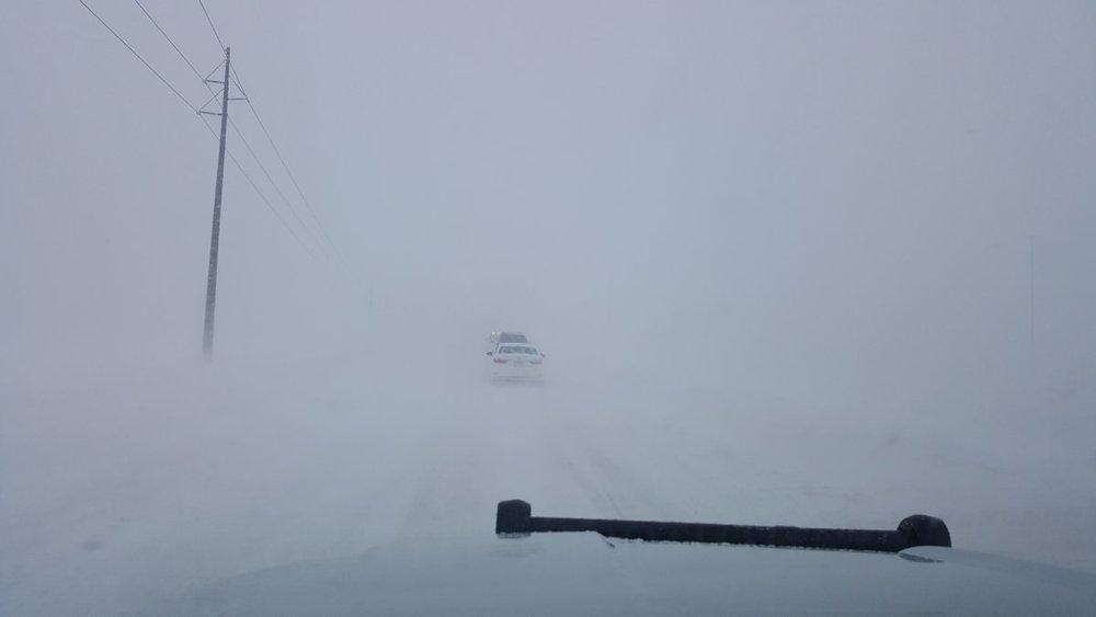 Blizzard in Broomfield, Colorado on March 13, 2019.  (Photo: Broomfield, Colorado Police Department)