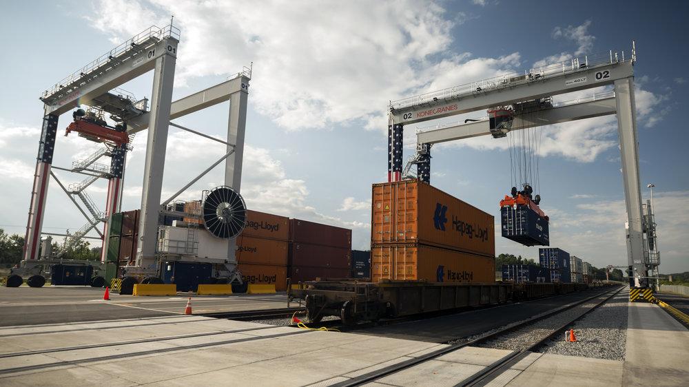The Appalachian Regional Port in Chatsworth, Ga. in August 2018 (Photo: GPA)