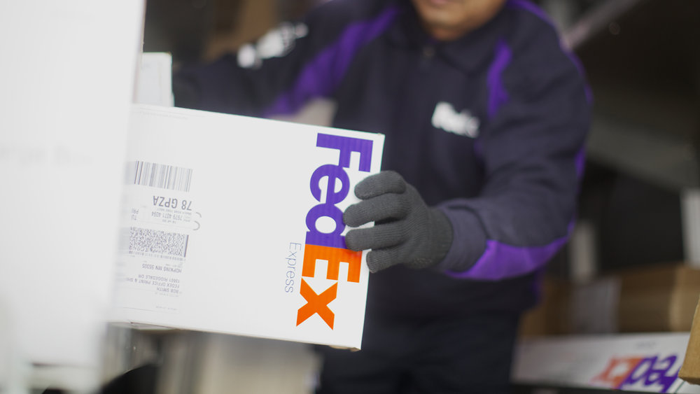 Photo credit: FedEx
