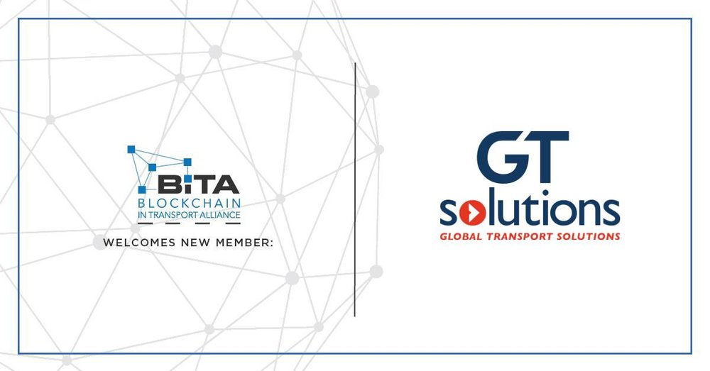 France's GT Solutions Joins Blockchain In Transport Alliance