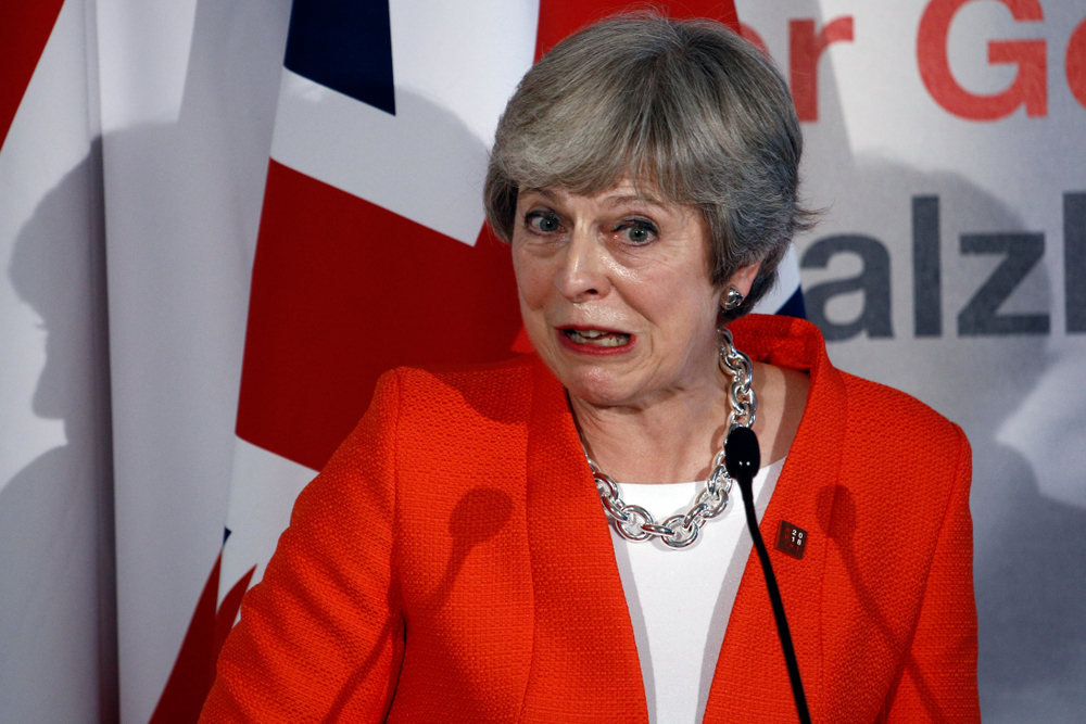 UK Prime Minister Theresa May faces the prospect of a further defeat in Parliament as MPs seek to take control of the Brexit agenda. Credit: Shutterstock.