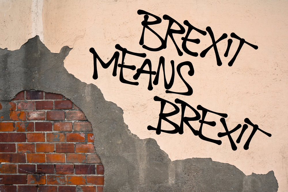 "Prime Minister Theresa May's famous phrase, ""Brexit means Brexit"" could come back to haunt her after Parliament took control of the Brexit process and is altering the meaning of the term. Credit: By  M-SUR ."