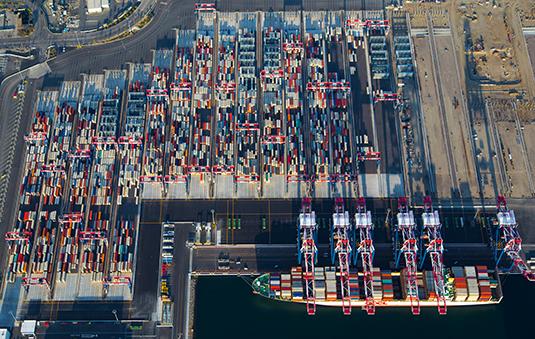 Long Beach Container Terminal (Photo: POLB)