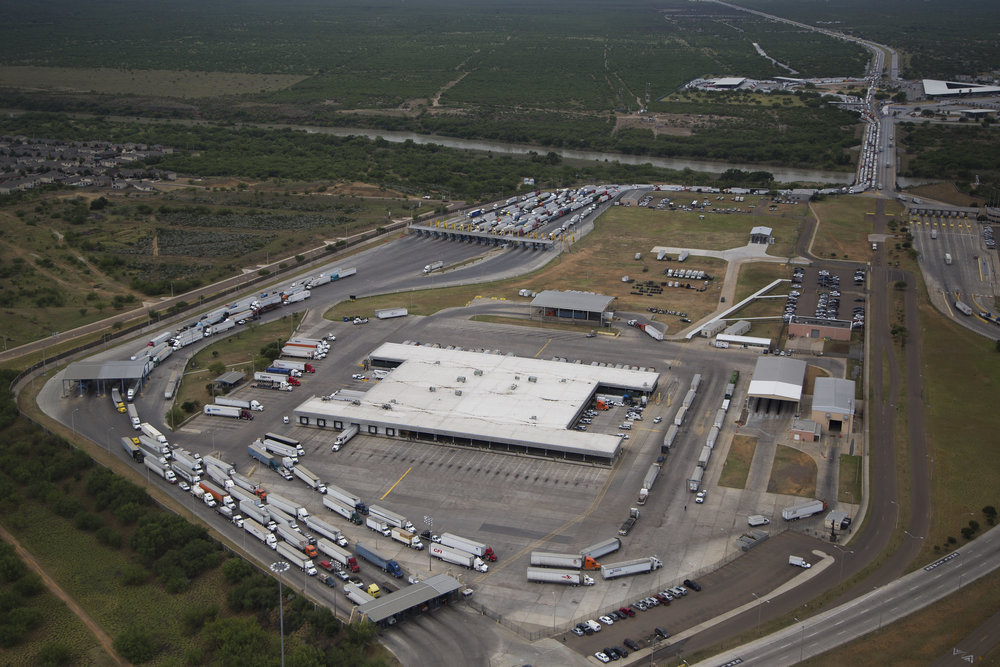World Trade Crossing-International Bridge at Laredo. Credit: CBP
