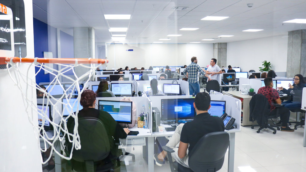 A brokerage operations office in Colombia managed by Lean Staffing Solutions. ( Photo: Lean Staffing )