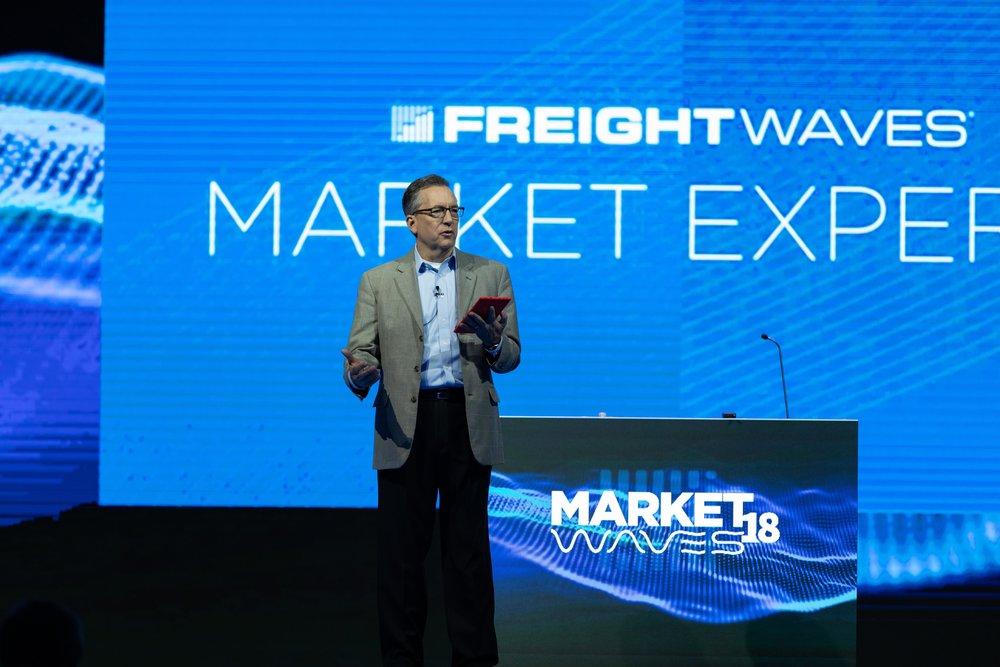 George abernathy presenting at freightwaves' marketwaves18