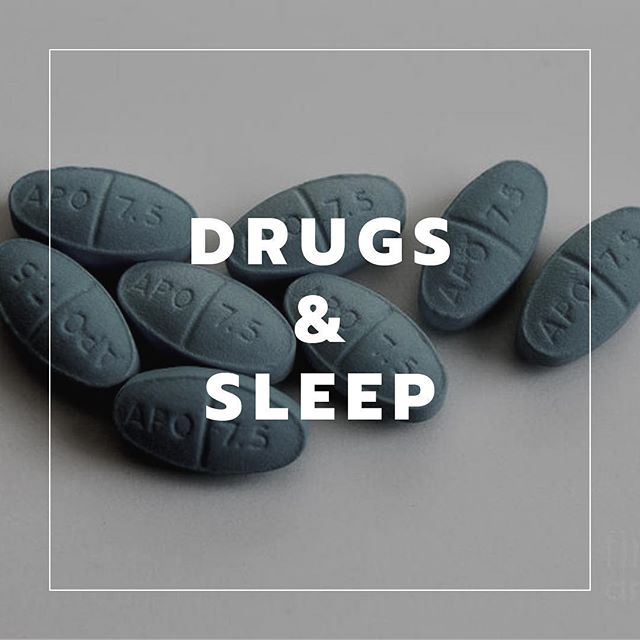 STOP USING DRUGS TO FALL ASLEEP  This is rife in the bodybuilding world, and needs to stop.  The most common drugs used in bodybuilding circles for sleep tends to be diazepam and zoplicone, which are benzodiazepine receptor agonists.  Benzodiazepines reduce stages of sleep. For example... - 2mg of estazolam reduces stage 3-4 sleep from 4% all the way to 1% (Lamphere J, Roehrs T, Zorick F, Koshorek G, Roth T. Chronic hypnotic efficacy of estazolam. Drugs Exp Clin Res. 1986;12:687–692) - 15mg of tamezepam reduced stage 3-4 sleep from 8% to 5% (Roehrs T, Vogel G, Vogel F, Wittig R, Zorick F, Paxton C, Lamphere J, Roth T. Dose effects of temazepam tablets on sleep. Drugs Exp Clin Res. 1986;12:693–699.) - Both of the above reduced stage 1 sleep from 16% to 9%. - 15mg of zoplicone reduced stage 1 sleep from 12% to 8%, and stage 3-4 from 9% to 4% (Lamphere JK, Roehrs TA, Zorick F, Koshorek G, Roth T. The dose effects of zopiclone. Hum Psychopharm. 1989;4:41–46.) As a bodybuilder, the last thing you want to do is reduce the amount of time spent within the most important recovery variable available to you.  What should you do instead? Nail your sleep hygiene, pre-bed rituals and circadian rhythm management, and you won't need drugs to fall asleep.