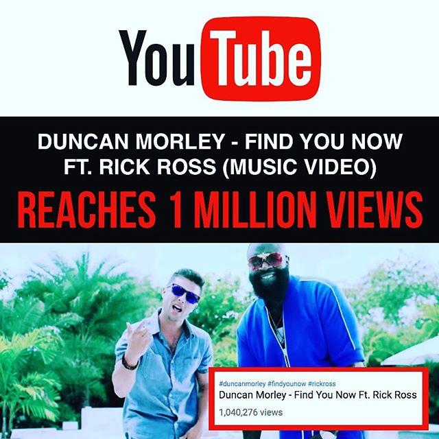 1 MILLION VIEWS 🎥 @youtube @richforever @spifftv 🙏🏻