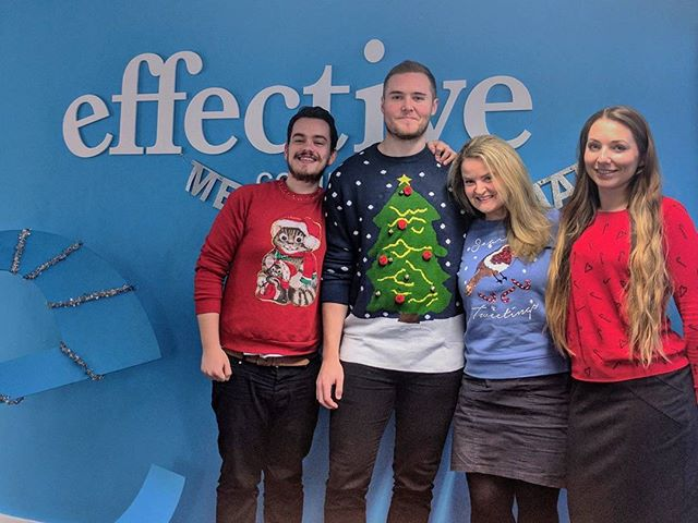 What do you think of the team's #ChristmasJumperDay effort?