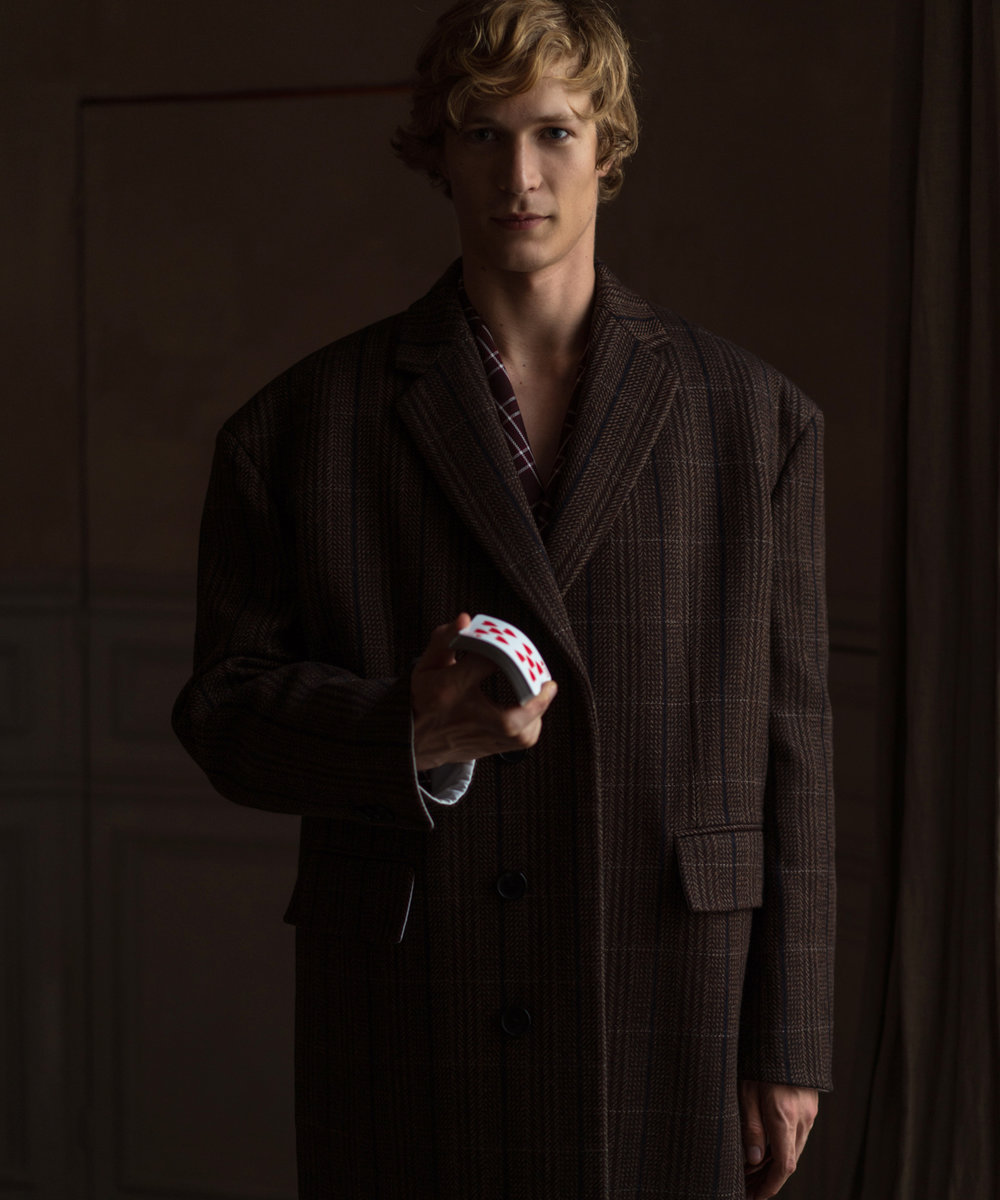 Sven de Vries by Aiala Hernando for Essential Homme Fall 18
