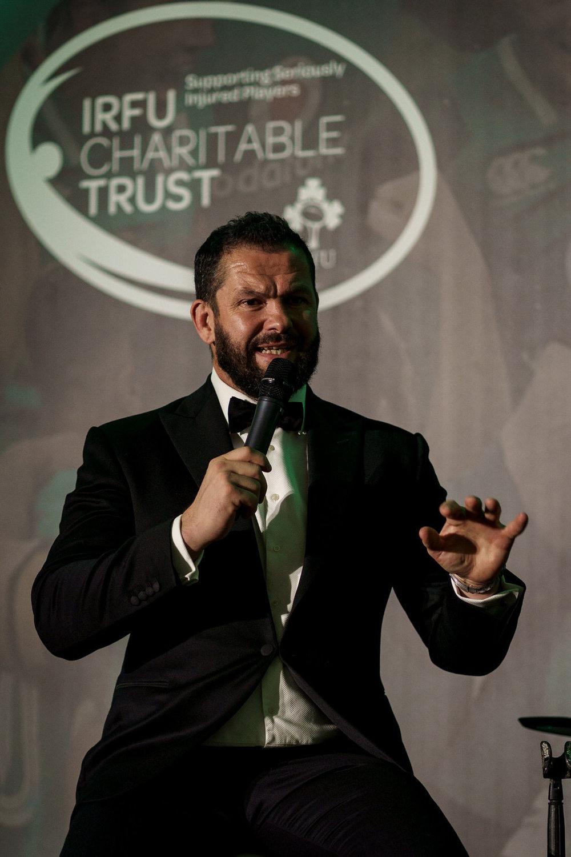 IRFU Charitable Trust 2019 Ball. The Shelbourne Hotel Dublin Ireland.
