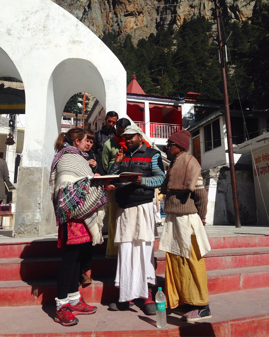 Christabel and the Holy Men, Gangotri